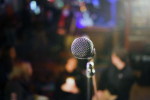 Stand-up mic